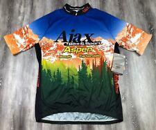 NWT SUGOI Adrenalink Ajax Bike & Sport Aspen Bike Racing Cycling Jersey XXL