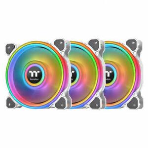 Thermaltake Riing Quad 14 RGB Radiator 3 Pack Fan TT Premium , CL-F101-PL14SW-B