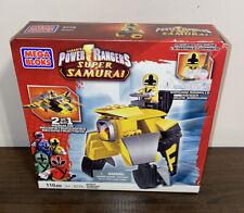 NIB Saban?s Power Rangers SAMURAI APEZORD 5775 108 Pcs Collectible Yellow Ranger