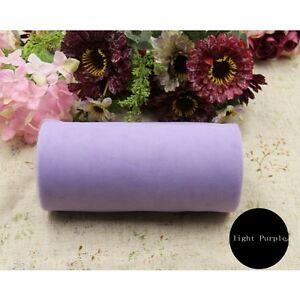 Party Tutu Wrap Fabric Decoration Tulle Roll Spool Craft Gift Wedding