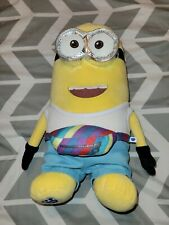 """New w/Tags Build-A-Bear Workshop Despicable Me 3 Minions """"Jerry"""" as Tourist"""