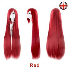 Fashion Women Long Hair Full Wig Natural Curly Wavy Straight Synthetic Hair Wigs