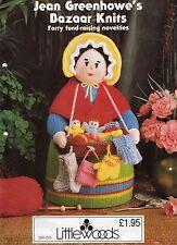 Jean Greenhowes Knitting Pattern Toys & Novelties Bazaar Knits.