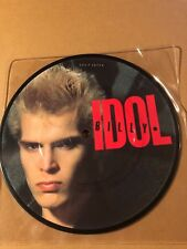 "BILLY IDOL - HOT IN THE CITY / DEAD ON ARRIVAL   7"" PICTURE DISC NEAR MINT"