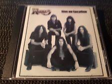 Hades - Live On Location - 2000 Crook'd Records CD - thrash heavy metal