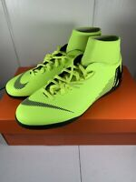 Nike Mercurial Superfly 6 Club IC Men's Size 8 Soccer Shoes  AH7371-701 Volt NEW