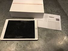 DAMAGED APPLE iPAD 6TH GEN 32GB ROSE GOLD - WORKING