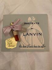 Vintage Lanvin Pretexte Saks Fifth Avenue Perfume Mini Sample On Card