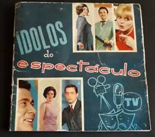SHOW IDOLS MOVIE STARS / STICKER ALBUM 1967 / JANE FONDA / SIDNEY POITIER