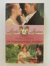 Nicola Cornick Ein unmoralisches Angebot Liebesroman Lords & Ladies