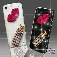 DIAMANTE SKULL PERFUME DIAMOND MOBILE CASE COVER SAMSUNG iPHONE SONY HTC SAMSUNG
