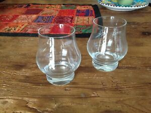 SET OF 2 LIBBEY WHISKEY TASTING GLASSES FAST FREE SHIPPING