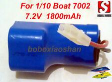 Doppio Cavallo Radiocomando RC Gara Speed boat 7002 barca batteria