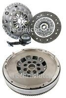 LUK DUAL MASS FLYWHEEL DMF AND CLUTCH KIT WITH CSC FOR FORD GALAXY 2.0 TDCI
