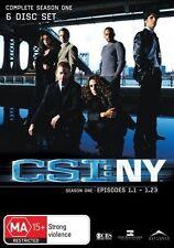 CSI: NY : Season 1 (DVD, 2006, 6-Disc Set)