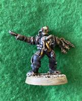 Warhammer 40k Space Marines Gun Servitor Inquisition Games Workshop Citadel OOP