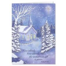 Twilight Chapel Christmas Card Set of 20