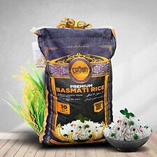 Extra Long Crown Premium Basmati Rice; From the Foothills of Himalayas 10 lbs