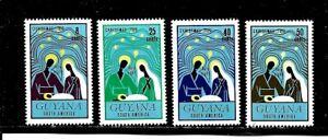 Guyana Stamps- Scott # 168-171/A35-Set-Mint/VLH-1972-OG
