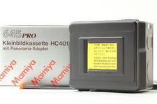 [Unused] Mamiya 645 135 Film Holder HC401 w / 135 Panorama Screen DHL from Japan