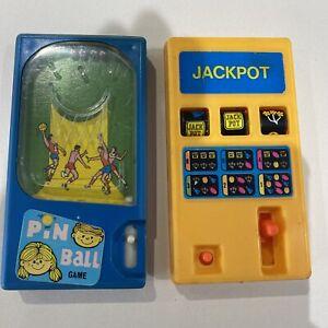 Vintage Jackpot Fruit machine And Pin Ball Pocket game Hong Kong Pocketeers