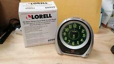 Desktop Alarm Clock with Second Hand Lorell