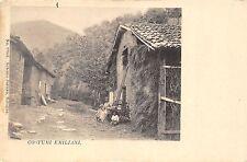 5757) BOLOGNA, COSTUMI EMILIANI.