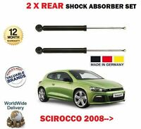 FOR VW SCIROCCO 1.4 TSI 2.0 R 2.0 TDI 2008 > 2X REAR AXLE SHOCK ABSORBER SET