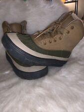 New listing Nike ACG Woodside 2 High Hiking Duck Boots 524872-301 Big Kids 4Y Cargo Khaki