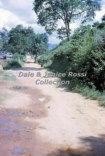 HK123 Single 35mm Slide 1962 New Territories Road to Freedom,  Hong Kong China