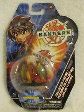 BAKUGAN Red DRAGONOID Collector Figure 2 inch + Metal Card Series 1