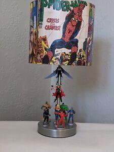 Marvel Avengers Superhero character boys bedroom night light lamp christmas