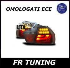 BMW SERIE 3 E90 FARI FANALI POSTERIORI A LED LTI LIGHT TUBE FUME SMOKE 05>08