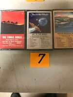 (3) NEW SEALED Assorted Christmas Music Cassette Tapes  (G) (7)