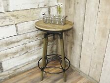 Industrial Reclaimed Wood Bar Table - Man Cave - Home Bar - Kitchen - Commercial