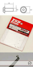 0.7mm TAPERED HEAD ALU RIVET n HOLE 20PCs fo TAMIYA BANDAI POCHER DOYUSHA REVELL