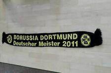 Borussia Dortmund BVB 09 Schal Fanschal Scarf Echarpe Deutscher Meister 2011