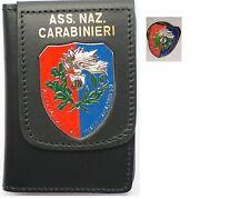 Portafogli Portatessera Placca ASSOCIAZIONE NAZIONALE CARABINIERI ANC+pin spilla