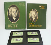 Great Men of Music Johann Sebastian Bach Time Life Music 4 Cassette Tape Set