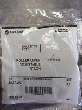 """Nuevo Allen Bradley 802T-W2 Palanca Ajustable interruptor de límite de 1.9"""" -3"""" Ser. B Arm nifp"""
