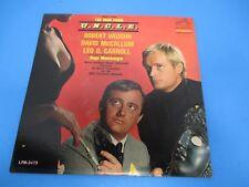 The Man From U.N.C.L.E Album LP Vinyl 1965 RCA Victor Dynagroove Recording