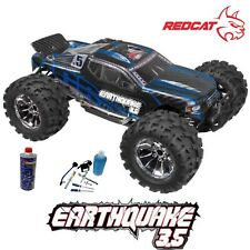Redcat Racing Earthquake 3.5 1/8 4x4 Nitro Monster RC Truck W/Starter Kit & Fuel