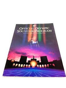 Los Angeles 1984 Summer Olympic Games Official Souvenir Program