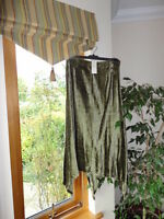 Stunning Velvet Skirt from Perle du Sud, Size UK10-12,RRP£66, New without tags