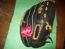 New listing RAWLINGS LEFT PLAYER PREFERRED SERIES BASEBALL LEATHER GLOVE B5PP125  121/2 INCH