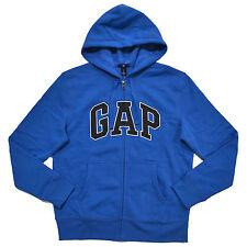 Gap Mens Hoodie Zip Up Sweatshirt Applique Arch Logo Fleece Jacket S M L Xl Xxl