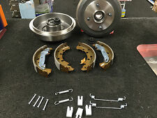 FOR FORD FOCUS 98-04 REAR BRAKE DRUM WHEEL BEARING FITTED BRAKE SHOE FITTING KIT