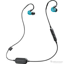 Shure Wireless SE215 Sound Isolating In-Ear Monitors w/ Bluetooth Cable Blue