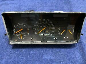 1991 1992 CLASSIC SAAB 900 NON TURBO VDO Instrument Cluster 125 MPH SPEEDOMETER