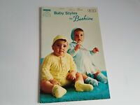 Knitting Crochet Pattern Booklet Vintage Baby Styles by Beehive